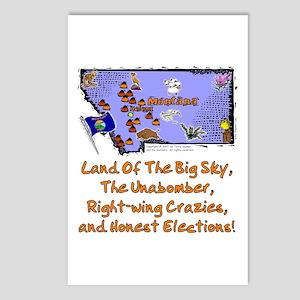 MT-Big Sky Postcards (Package of 8)
