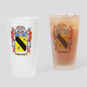 Holgate Coat of Arms - Family Crest Drinking Glass