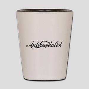 Anti Capitalist Shot Glass