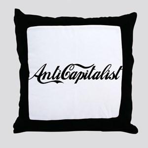 Anti Capitalist Throw Pillow