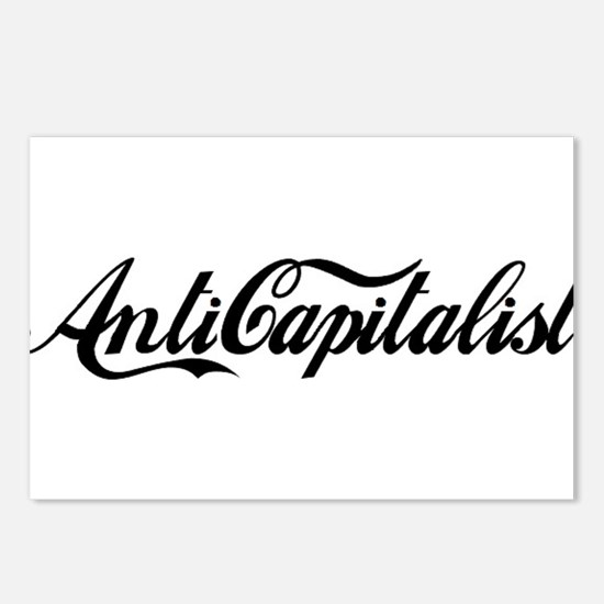 Anti Capitalist Postcards (Package of 8)