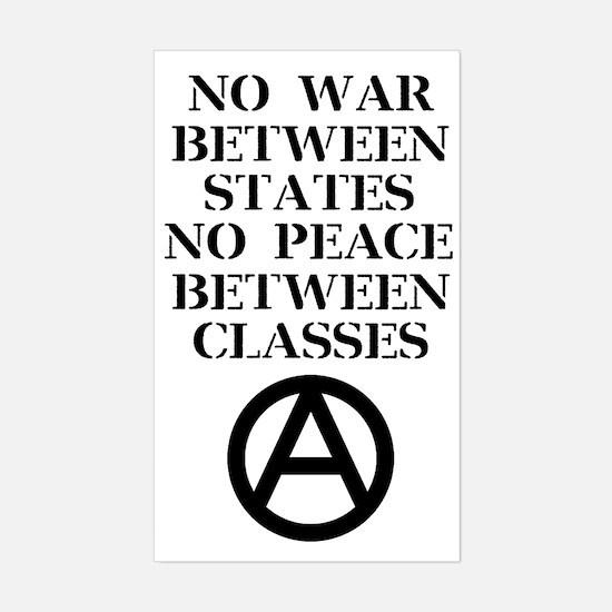 Unique Peace logo Sticker (Rectangle)
