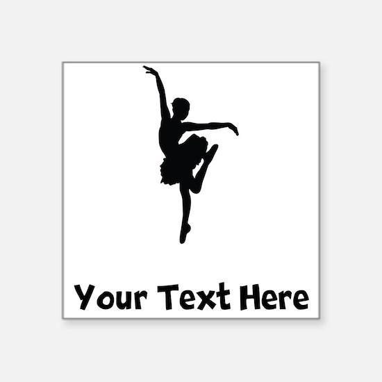 Ballerina Silhouette Sticker