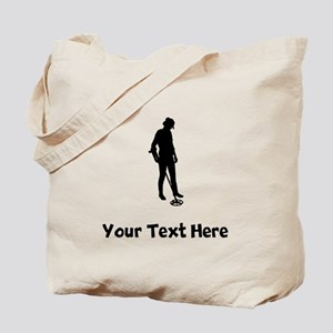 Coinshooter Silhouette Tote Bag