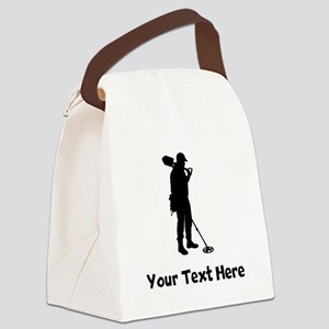 Coinshooter Silhouette Canvas Lunch Bag