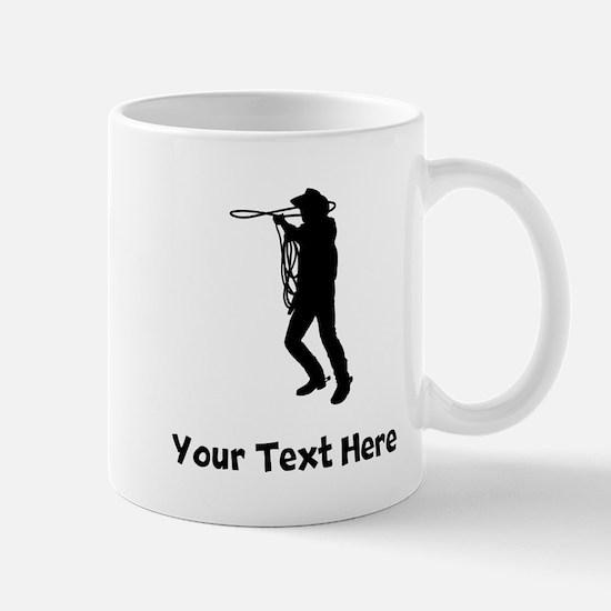 Cowboy Silhouette Mugs