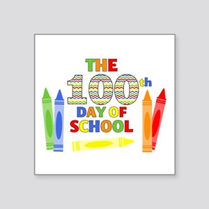 100th day of school Sticker
