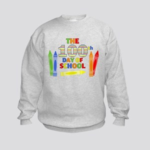 100th day of school Kids Sweatshirt