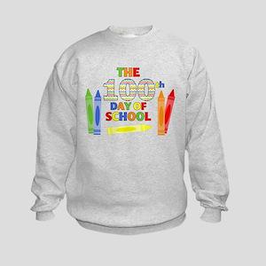 100th day of school Kids Sweatshirt