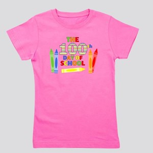 100th day of school Girl's Tee