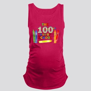 100th day of school Maternity Tank Top