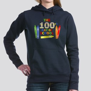 100th day of school Women's Hooded Sweatshirt