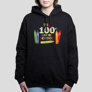 100th day of school Women's Hooded Sweatshirt