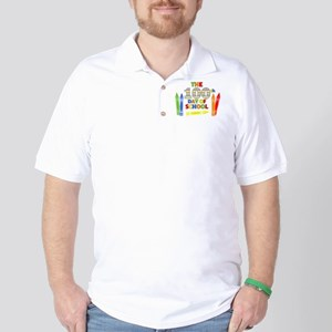 100th day of school Golf Shirt