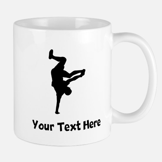 Breakdancer Silhouette Mugs