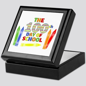 100th day of school Keepsake Box