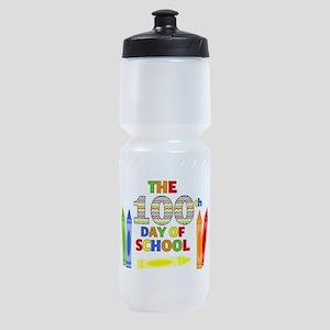 100th day of school Sports Bottle