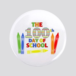 100th day of school Button