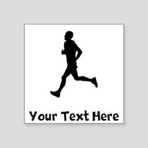 Runner Silhouette Sticker