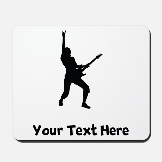 Rock Star Silhouette Mousepad