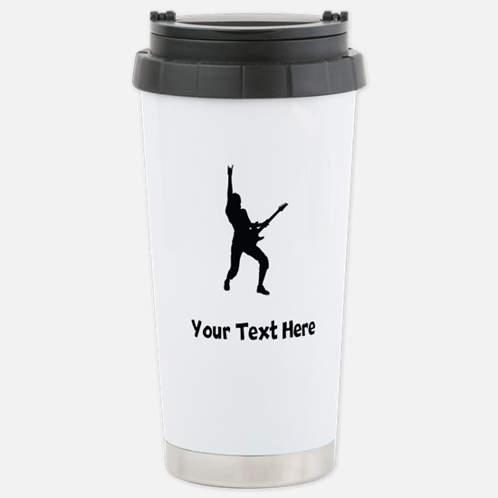 Rock Star Silhouette Travel Mug