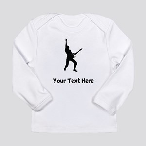 Rock Star Silhouette Long Sleeve T-Shirt