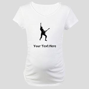Rock Star Silhouette Maternity T-Shirt