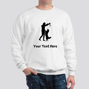 Dog Trainer Silhouette Sweatshirt