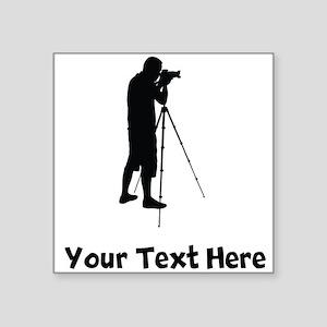 Photographer Silhouette Sticker