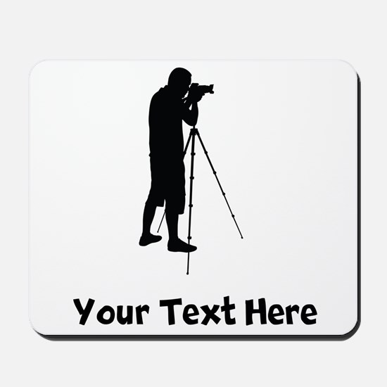 Photographer Silhouette Mousepad