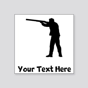 Duck Hunter Silhouette Sticker