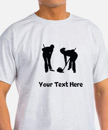 Curlers Silhouette T-Shirt
