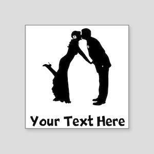 Wedding Couple Silhouette Sticker