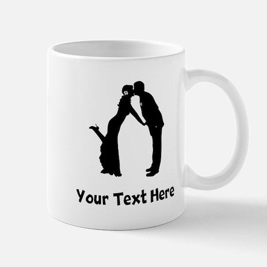 Wedding Couple Silhouette Mugs