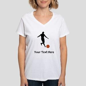 Kickball Player Silhouette T-Shirt
