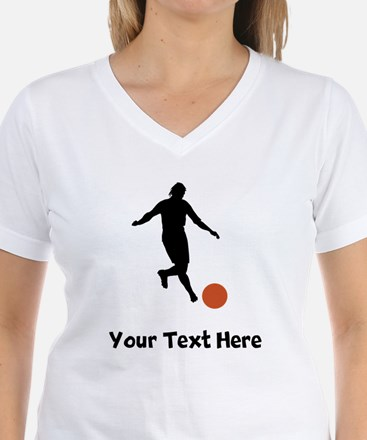 Kickball Player Silhouette T-Shirt