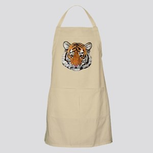 Tiger Cub Low Poly Triangle Geometric Apron