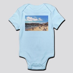 British Beach scene illustration, St Ive Body Suit