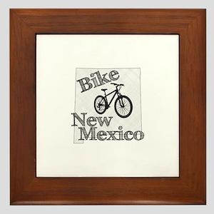 Bike New Mexico Framed Tile