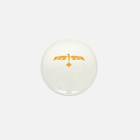 Funny Pheonix Mini Button