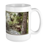 Deer In Rocky Mountain National Park Large Mugs