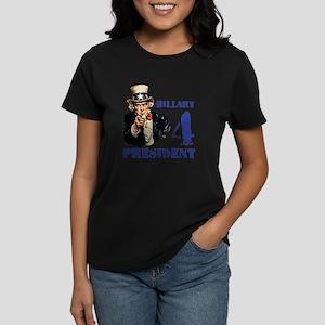 Hillary 4 President Uncle Sam T-Shirt