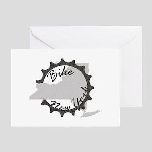 Bike New York Greeting Card