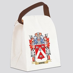 Horne Coat of Arms - Family Crest Canvas Lunch Bag