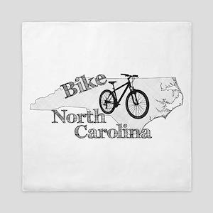 Bike North Carolina Queen Duvet