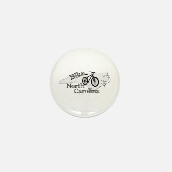 Bike North Carolina Mini Button