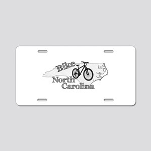 Bike North Carolina Aluminum License Plate