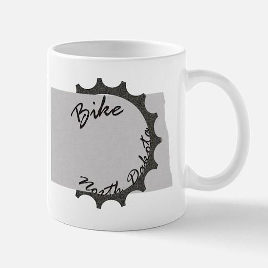 Bike North Dakota Mug
