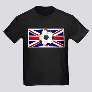 British Flag and Football T-Shirt