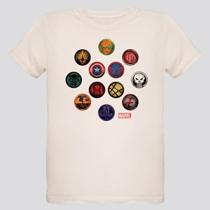 Marvel Grunge Icons Organic Kids T-Shirt